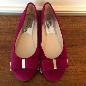 MK Kierra Ballet Suede Shoe